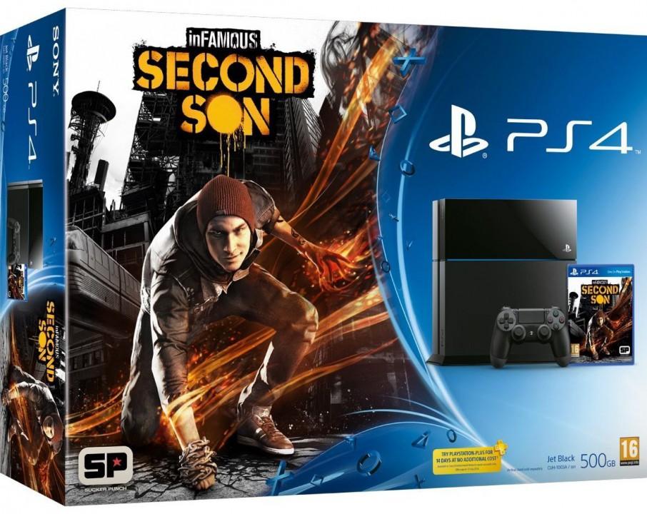 PS4 inFAMOUS bundel